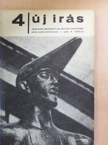 Ágh István - Új Írás 1968. április [antikvár]