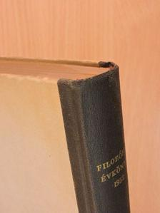 Faludi Béla - Filozófiai évkönyv 1952 [antikvár]