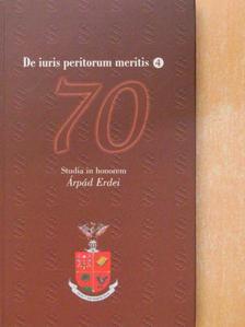 Bócz Endre - De iuris peritorum meritis 4 [antikvár]