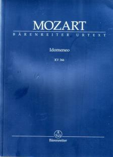MOZART, W,A, - IDOMENEO KV 366, STUDIENPARTITUR URTEXT HERAUSGEGEBEN VON DANIEL HEARTZ
