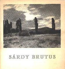 Bodnár Éva - Sárdy Brutus (1892-1970) emlékkiállítása [antikvár]