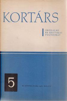 Simon István - Kortárs XI. évf. 1967. május [antikvár]