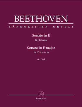 BEETHOVEN - SONATE IN E FÜR KLAVIER OP.109