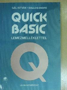 Dallos Endre - Quick Basic - lemezzel [antikvár]