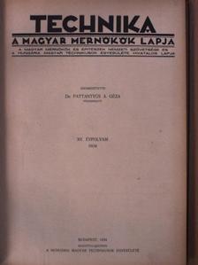 Antal Dezső - Technika 1934-1935. január-december [antikvár]