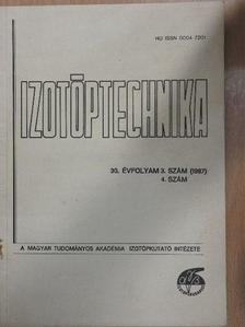 Boóc András - Izotóptechnika 1987/3-4. [antikvár]