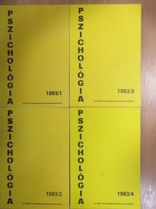 Csorba János - Pszichológia 1993/1-4. [antikvár]