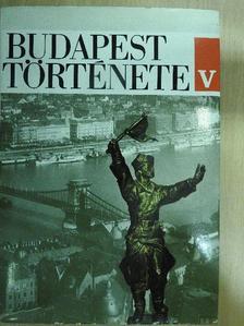 Bónis György - Budapest története V. [antikvár]