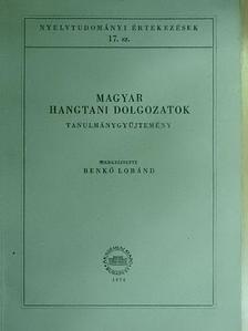 Antal László - Magyar hangtani dolgozatok [antikvár]