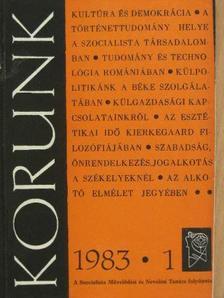 Gazda József - Korunk 1983. (nem teljes évfolyam) [antikvár]