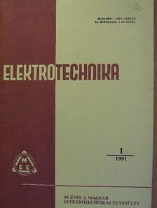 Dr. Horváth Tibor - Elektrotechnika 1991. (nem teljes évfolyam) [antikvár]