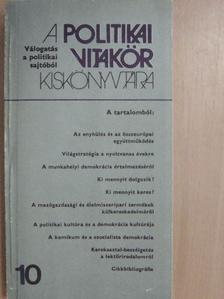 Badacsonyi György - A politikai vitakör kiskönyvtára 10. [antikvár]