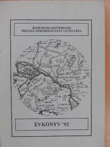 Csombor Erzsébet - Komárom-Esztergom megyei önkormányzat levéltára évkönyv '92 [antikvár]