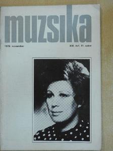 Boros Attila - Muzsika 1976. november [antikvár]
