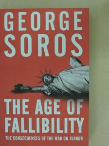 George Soros - The Age of Fallibility [antikvár]