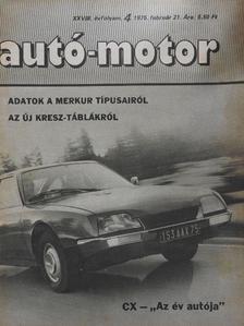 Autó-Motor 1975. február 21. [antikvár]