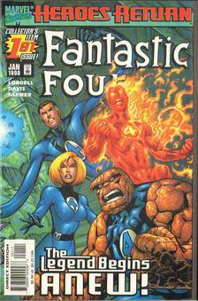 Lobdell, Scott, Davis, Alan - Fantastic Four Vol. 3. No. 1 [antikvár]