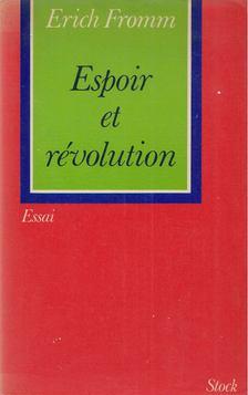 Erich Fromm - Espoir et révolution [antikvár]