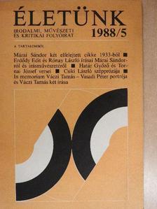 Csiki László - Életünk 1988. május [antikvár]