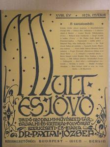 Csermely Gyula - Mult és Jövő 1928. május [antikvár]