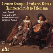 TELEMANN - GERMAN BAROQUE - HAMMERSCHMIDT TO TELEMANN CD SAVALL, HARNONCOURT