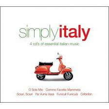 SIMPLY ITALY 4CD