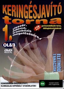 Ölveczky László - KERINGÉSJAVÍTÓ TORNA - DVD -