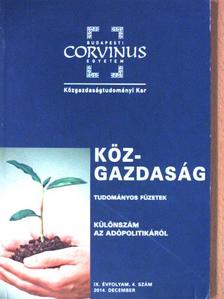 Baksay Gergely - Köz-gazdaság 2014. december [antikvár]