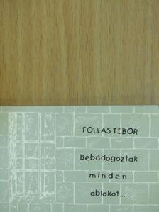 Tollas Tibor - Bebádogoztak minden ablakot... (minikönyv) [antikvár]