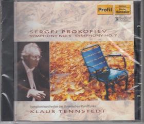 PROKOFIEV - SYMPHONIES NO.5,7 CD TENNSTEDT