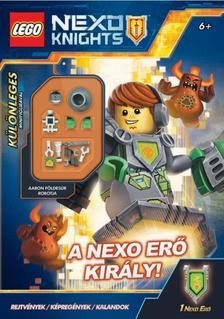 LEGO Nexo Knights - A Nexo erő király -Különleges földesúr robot minifigurával!