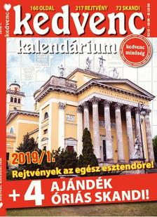 CSOSCH KIADÓ - Kedvenc Kalendárium 2019/1.