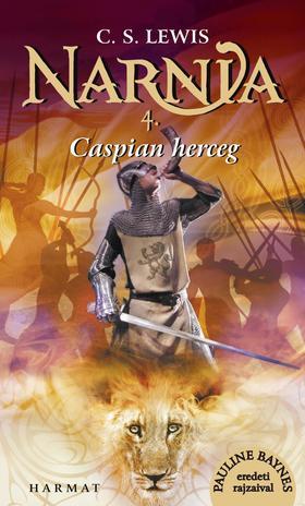 C.S. Lewis - Narnia 4. - Caspian herceg - Illusztrált kiadás