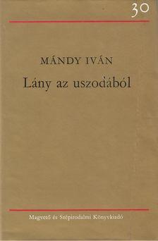 Mándy Iván - Lány az uszodából [antikvár]