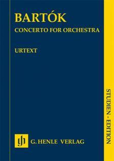 BARTÓK - CONCERTO FOR ORCHESTRA STUDIEN EDITION