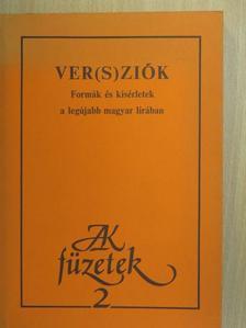 Balázsovics Mihály - Ver(s)ziók [antikvár]