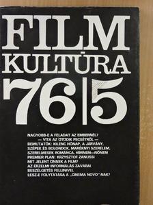Lázár István - Filmkultúra 1976. szeptember-október [antikvár]