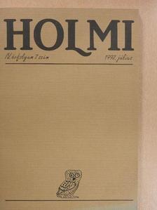 Bán Zoltán András - Holmi 1992. július [antikvár]