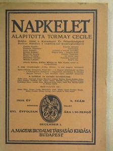 Bisztray Gyula - Napkelet 1938. december 1. [antikvár]
