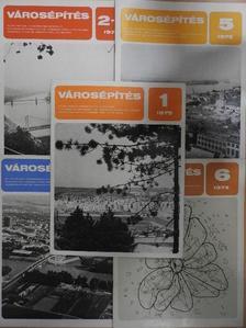 Áll Lajos - Városépítés 1975/1-6. [antikvár]