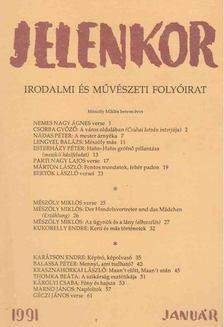 Csordás Gábor - Jelenkor 1991. január [antikvár]