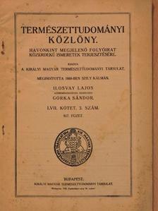 Andriska Viktor - Természettudományi Közlöny 1925. március [antikvár]
