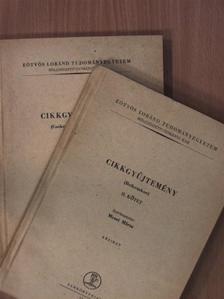 Babits Mihály - Cikkgyűjtemény I-II. [antikvár]