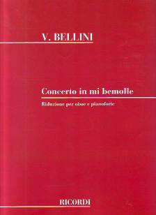 BELLINI, V. - CONCERTO IN MI BEMOLLE RIDUZIONE PER OBOE E PIANOFORTE DI LESKÓ VILMOS