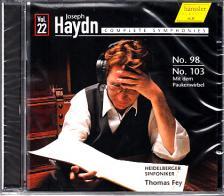 Haydn - SYMPHONIES NOS.98, 103 CD THOMAS FEY
