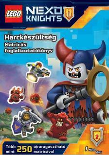 LEGO Nexo Knights - Harckészültség - Matricás foglalkoztatókönyv