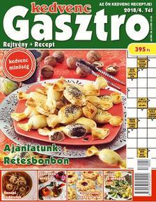CSOSCH KIADÓ - Kedvenc Gasztro rejtvénylap 2018/4