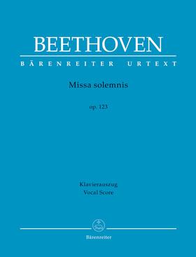 BEETHOVEN - MISSA SOLEMNIS OP.123 KLAVIERAUSZUG