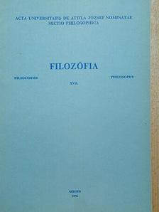 Kaposi Márton - Filozófia XVII. [antikvár]