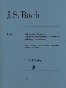 J. S. Bach - KLAVIERÜBUNG TEIL 2, 3, 4 FÜR KLAVIER URTEXT (RUDOLF STEGLICH) OHNE FINGERSATZ